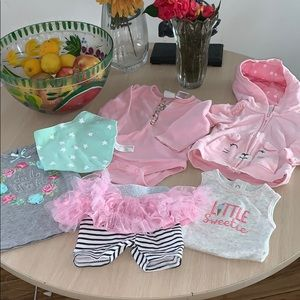 Lot of girls clothes 3 6 months